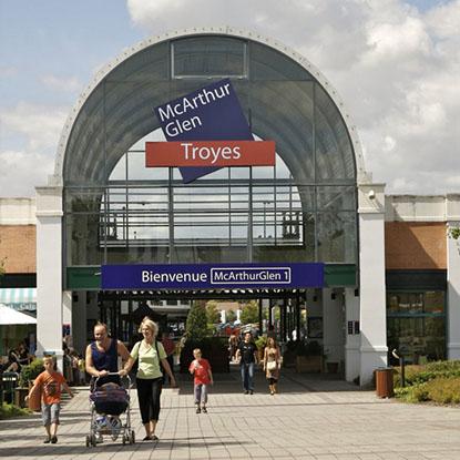 Les magasins d'usine à Troyes